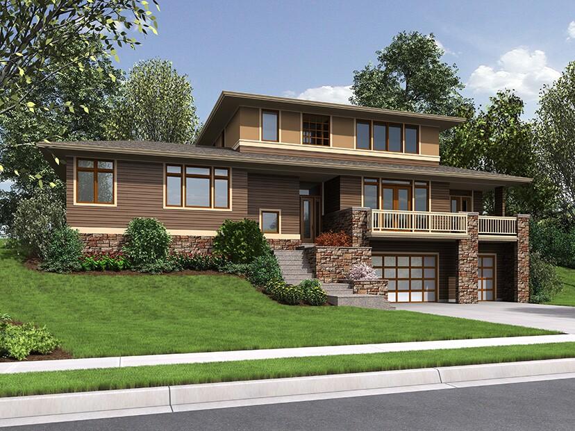 Fourplans neighborhood friendly exteriors builder for Builder magazine house plans
