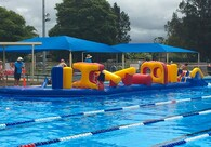 Exmouth Dual Racer Inflatable Obstacle Course