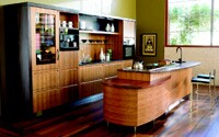 ... and quality kitchen cabinets with a furniture-style look, like these from Berkeley Mills.