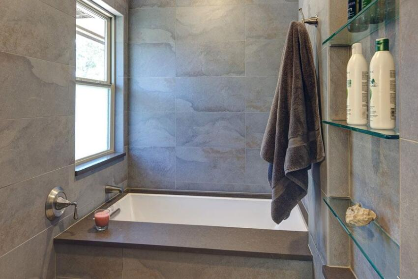 Walk-In Shower Detail