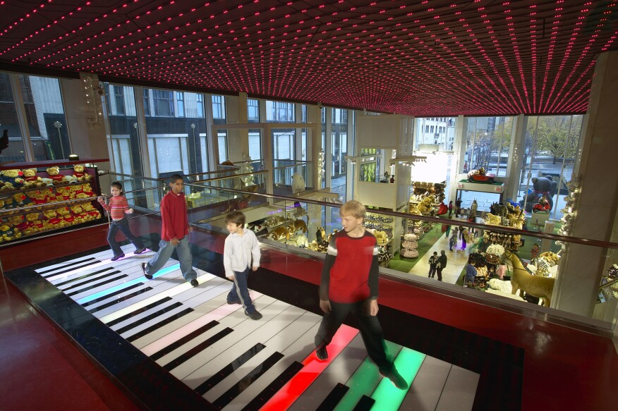 Fao Schwarz To Close Architectural Lighting Magazine Retail Projects Entertainment Projects