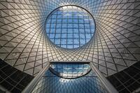 Sky Reflector-Net at the Fulton Center