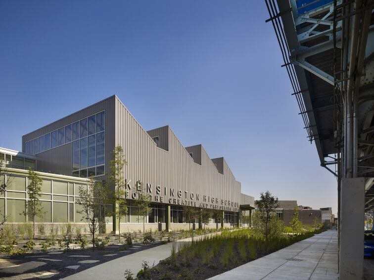2012 AIA COTE Top Ten Green Project: Kensington High School for the Creative and Performing Arts