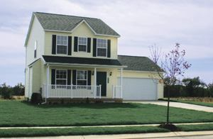 ESTABLISHING ROOTS: Many homes in phase 1 at Silver Springs have sold to first-time buyer families. In  some cases, grandparents have expressed intent to buy homes in phase  two so they can be near their grandkids.