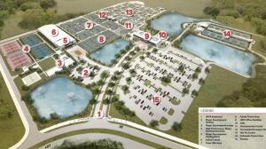 A rendering shows of the new USTA National Campus in Lake Nona.