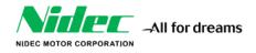 Nidec Motor Corp. Logo