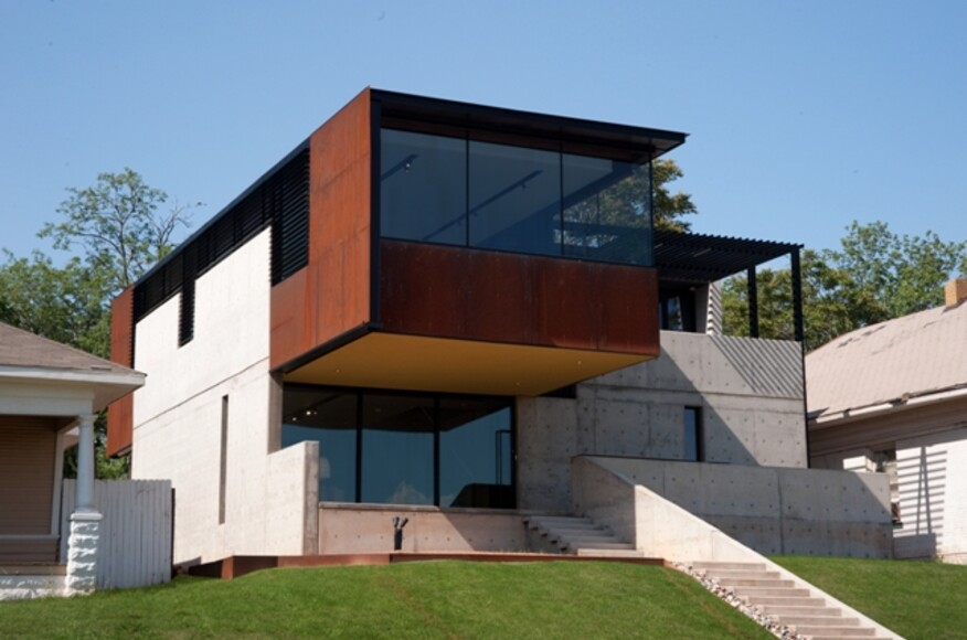 Oklahoma case study house architect magazine Building a house in oklahoma
