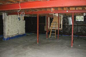 Lowering a Basement Floor