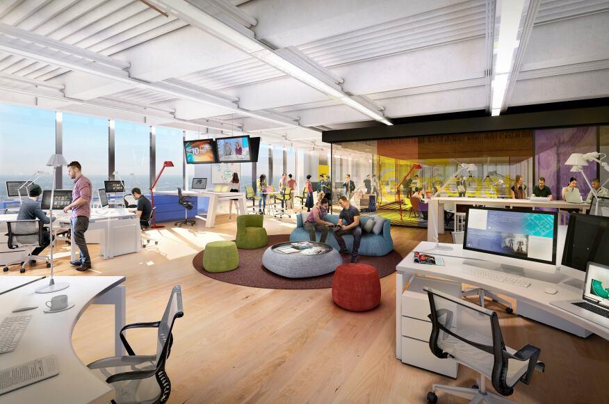 Comcast Picks Gensler To Design Interiors Of New Philadelphia