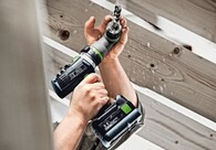 Festool Quadrive PDC184 Hammer Drill Driver Review from Tools of the Trade