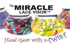 Miracle Lace Visor Logo
