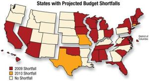 Twenty Twenty-six states have already projected budget shortfalls in 2009. PCA expects the result to be a two-year drop in construction.