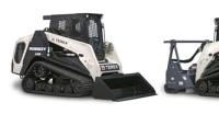 Terex compact track loader forestry models
