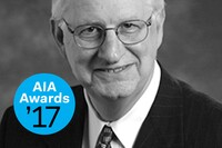 Ronald Skaggs Wins the 2017 AIA Edward C. Kemper Award