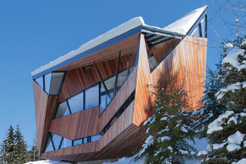 Hadaway House, Designed by Patkau Architects