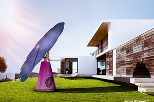 Smartflower POP Harvests the Sun's Power Easily and Efficiently