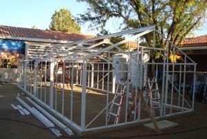 Manzo Elementary School green projects