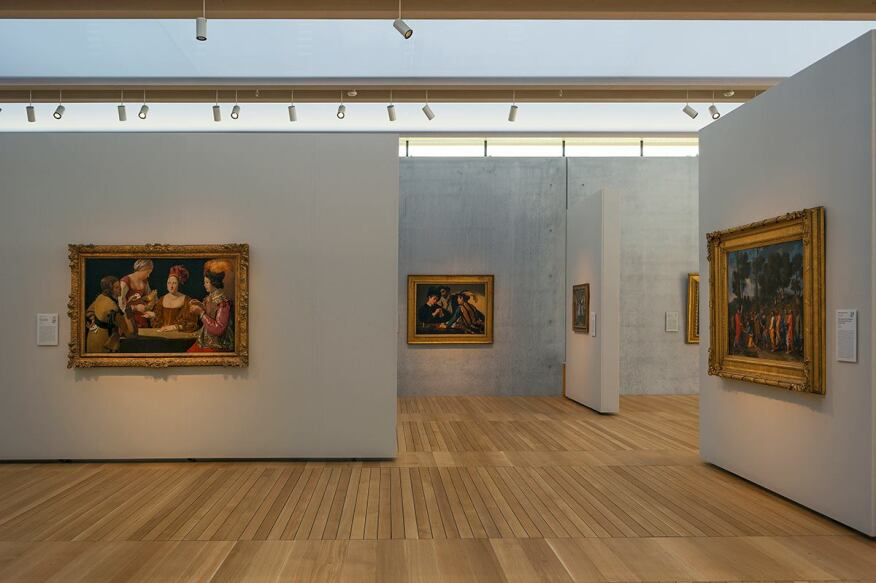 South Gallery interior. Photographed November 2013.