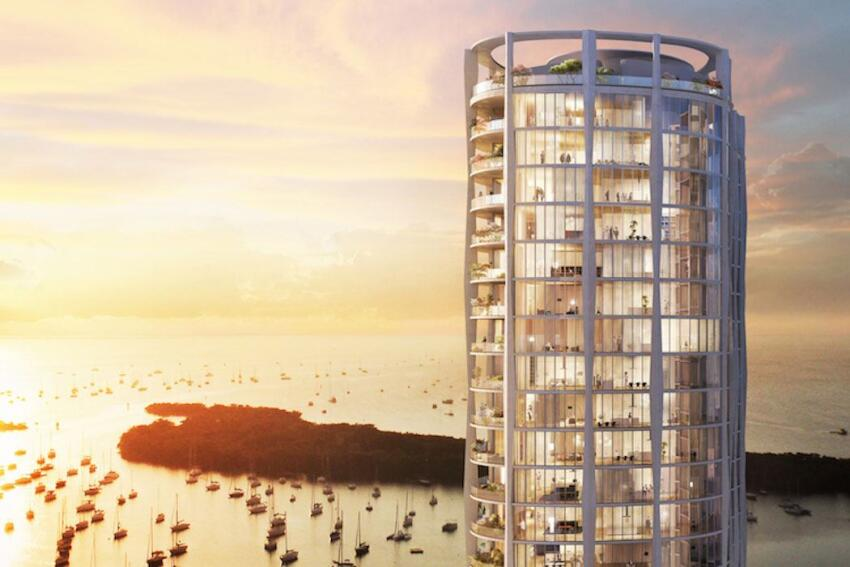 OMA Releases New Images of Park Grove Residences in Miami