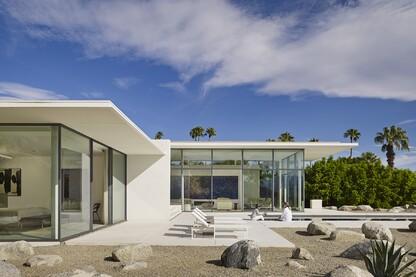 Palm Springs House, Booth Hansen, Palm Springs, Calif.