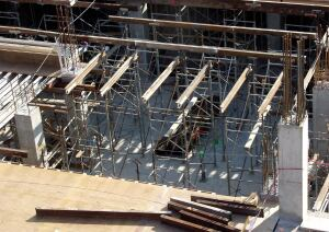 Forms and shoring should be designed to allow safe, easy removal, while protecting the structure from excessive deflections at early ages.