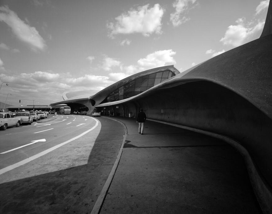 Edmund V. Gillon, TWA Flight Center (JFK Airport, Queens), c. 1978.