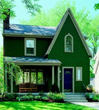 Custom color matching expands siding possibilities.
