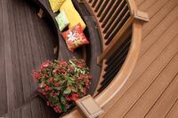 Damage-Resistant Deck Railing System