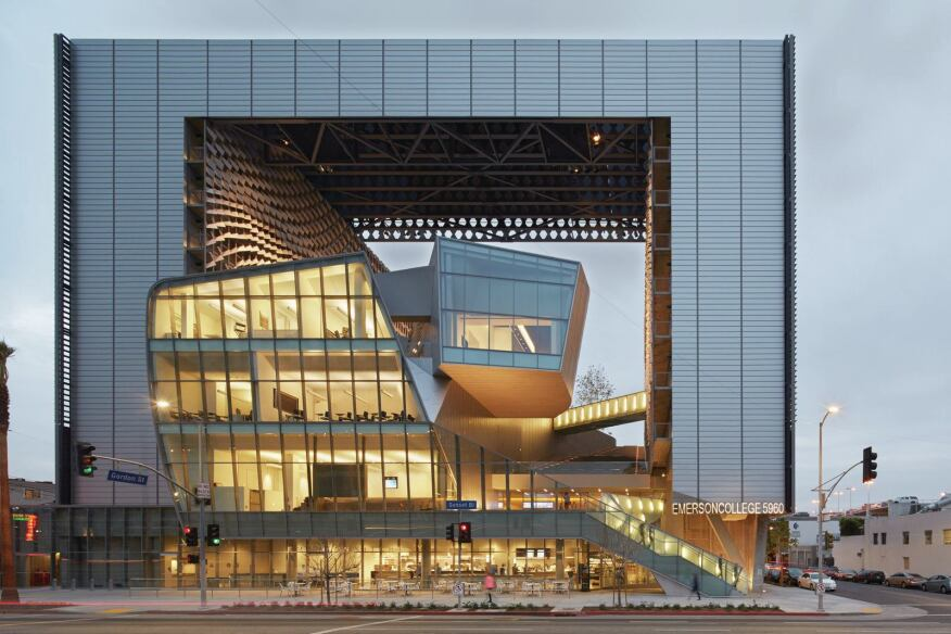 Emerson College Los Angeles Designed By Morphosis