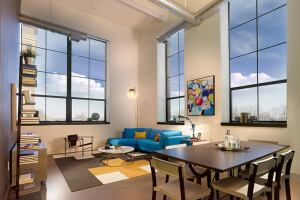 A former General Electric plant in New Jersey has been transformed into 160 future for-sale townhomes and 361 loft-style rental apartments.