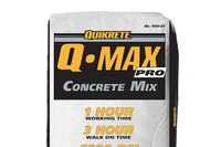 Q-MAX Pro concrete mix from Quikrete