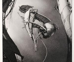 """""""Photon Kite"""" by Lebbeus Woods"""