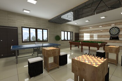 3D Interior Model Visualization