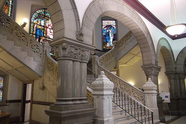 Inside Cincinnati's City Hall.