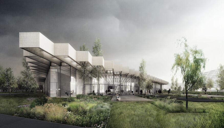 Cobe selected to design adidas group headquarters in for Raw space architects
