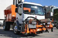 Truck-mounted asphalt patcher