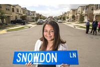 Teenager Discovers Street Named After Grandmother