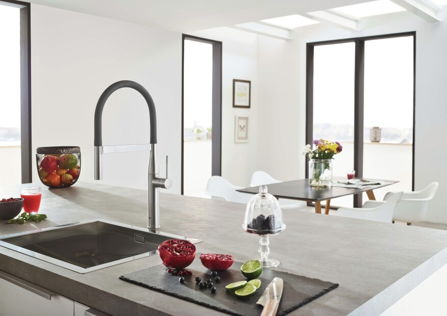 Grohe Essence Colored Kitchen Faucets
