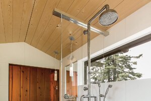 Rustic Shower Hardware