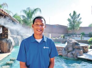 Linnzy Foster is advertising director of Presidential Pools, a Phoenix-based Pool & Spa News Top 50 builder.
