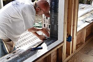 An Affordable Passive House Part II - Sealing the Air Barrier