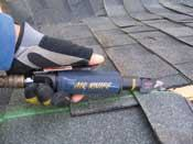 Roof Mates Air Knife Pneumatic Shingle Cutter