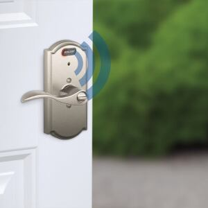 Keyed Entry Lock With Built-in Alarm.