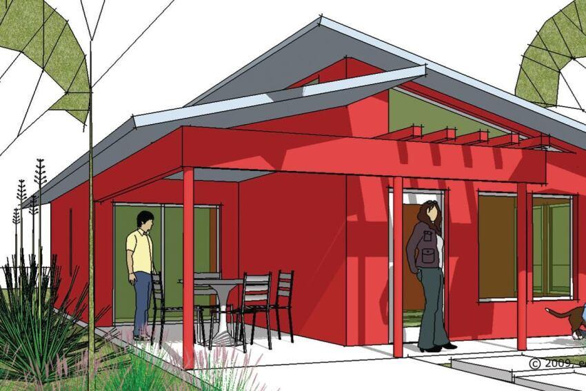 Ed Binkley's Shelter Series Prefab Homes