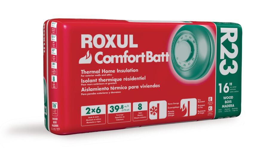 Roxul Energy Star-Rated ComfortBatt Insulation
