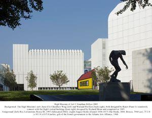 The High Museum in Atlanta.