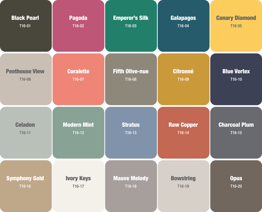 Paint With All The Colors Of The Year Remodeling Design Color Sherwin Williams Benjamin
