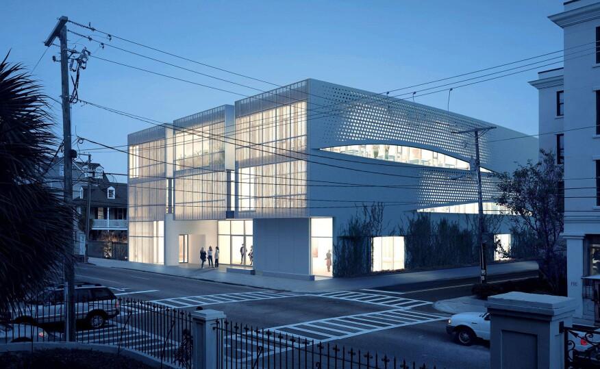 Brad Cloepfil's unbuilt Spaulding Paolozzi Center