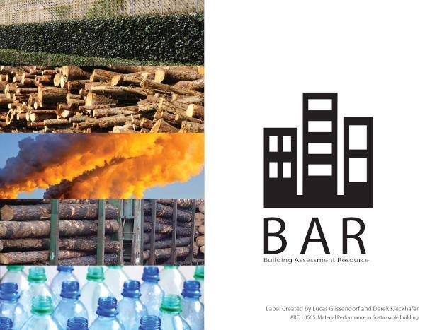 Building Assessment Resource ecolabel by Lucas Glissendorf and Derek Kieckhafer.