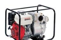 Honda Power Equipment Comprehensive Line of Water Pumps